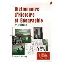 Dictionnaire d'histoire et de géographie