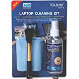 #4: Solo IC- 106 Twin Clean (Screen Cleaner + Wonder Cloth + Brush)  - Multi-Color
