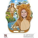 Putziges Kinderkostüm kleiner Löwe ( Weste mit Kapuze ) Gr. 134