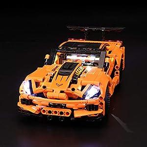BRIKSMAX Kit di Illuminazione a LED per Lego Techinc Chevrolet Corvette ZR1, Compatibile con Il Modello Lego 42093… 0716852283163 LEGO