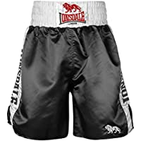 Lonsdale Mens Pro Large Logo Boxing Shorts Pants Trousers Bottoms Loose Fit