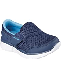 Skechers Infant Boys Equaliser Persistant Trainers in Navy