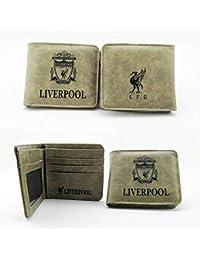 WEII Monedero de fútbol Fuentes de Ventilador Creativo Logotipo de fútbol Club Monedero,Liverpool,