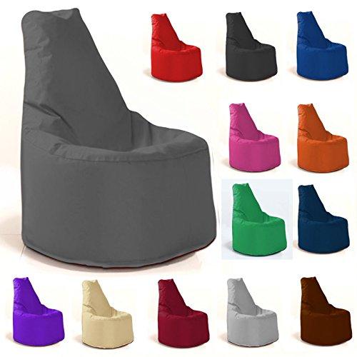 Sitzsack Sessel - für Kinder und Erwachsene - In & Outdoor Sitzsäcke Kissen Sofa Hocker Sitzkissen...