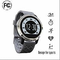 Bluetooth Smartwatch Armband sport Uhr Schrittzähler Pedometer Vollfarb Display Fitness Tracker Bewegungserkennung Heart Rate Monitor Touch Screen handy uhr Schrittzähler Sport Activity Fitness Tracker für IOS und Android