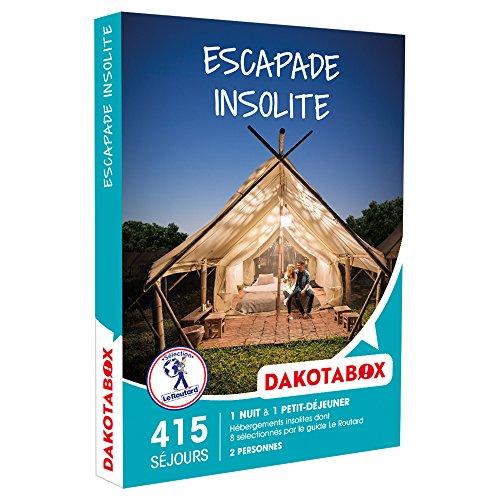 DAKOTABOX - Coffret Cadeau - ESCAPADE INSOLITE - hébergements insolites (yourtes,...