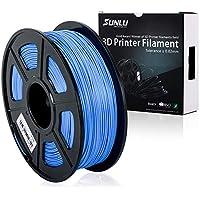 SUNLU 3D Printer Filament PLA Plus, PLA Plus Filament 1.75 mm,Low Odor Dimensional Accuracy +/- 0.02 mm, 3D Printing Filament,2.2 LBS (1KG) Spool for 3D Printers & 3D Pens