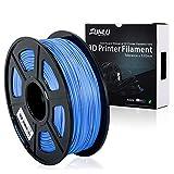 SUNLU 3D Drucker Filament PLA Plus Blau (mehr wie Himmel), PLA Plus Filament 1,75 mm, geringer Geruch Dimensionsgenauigkeit +/- 0,02 mm 3D Druck Filament, 2,2 LBS (1kg) Spool 3D Drucker Filament für 3D Drucker & 3D Kugelschreiber, blau (mehr wie sky)