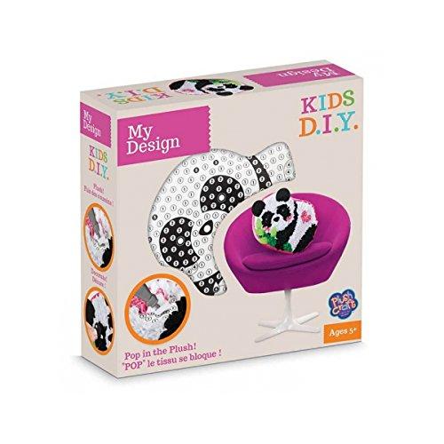 My Design–orb77235–Freizeit Kreative–DIY–Kissen Panda zum Dekorieren–pluschraft