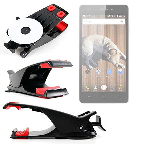 DURAGADGET Soporte Para Smartphone THL T6C | Doogee Valencia2 Y100 Plus | Elephone M2 | P7000 Pioneer Con Potente...