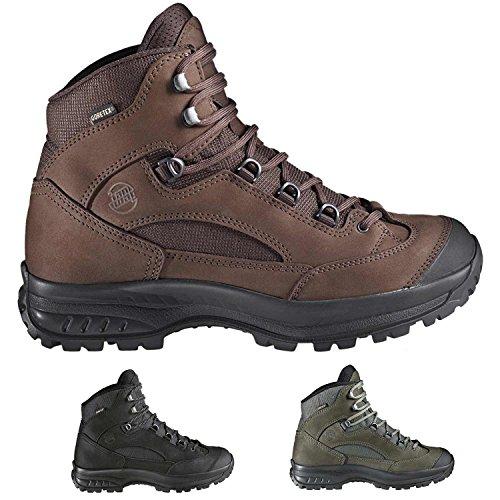 Hanwag Banks Gtx, Chaussures de Trekking et Randonnée Homme, Asche, Taille Unique asche-dark grey