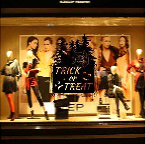 LONGTENGHEIHA Happy Halloween Home Haushalt Zimmer Wandaufkleber Dekor Abziehbild Abnehmbare Neue Wandaufkleber Mode-Design ()