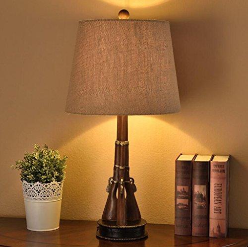 HZA Kindertischlampe moderne kreative minimalistischen Schlafzimmer Tischlampe Auge Studie Basketball American Boy Persönlichkeit Nachttischlampen (zwei Arten optional) Nachttischlampen ( design : B )