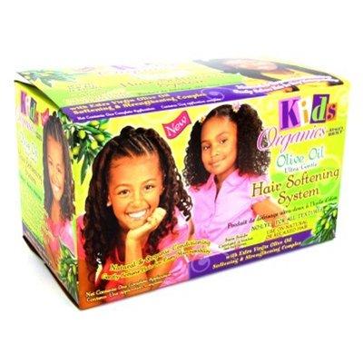 ENFANTS Organics à l'huile d'olive Ultra doux Cheveux adoucissante Système kit