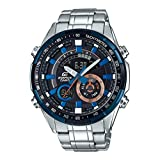 Casio Edifice Analog-Digital Black Dial Men's Watch - ERA-600DB-1AVUDF (EX419)