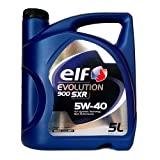 ELF Evolution 900SXR 5W-40Huile dans Le bidon de 5L