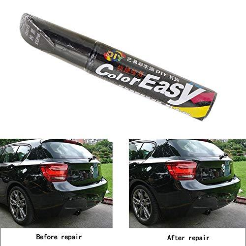 Lifemaison Reparaturstift Auto für Autolack Kratzer Steinschläge Pinsel zum Entfernen von Kratzern und Malerstiften 113x17mm 1 Stück