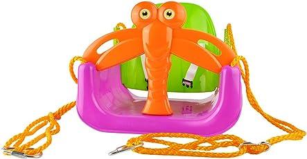 Kinderschaukel Babyschaukel 3in1 Verstellbar Bunt Kunststoff 1,5m Seil Sicher