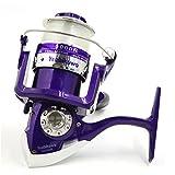 DealMux 3BB Rolamentos 4,7: 1 DE água salgada de água Doce dobrável Direita Esquerda Handle Pesca Spinning Reel 5000R
