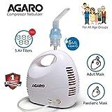 Agaro NB-22 Mini Compressor Nebulizer with Adult and Child Mask