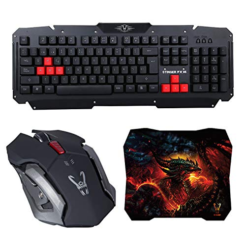 Woxter Stinger FX 95 W KIT - Kit gaming inalámbrico