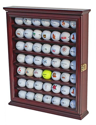 49 Golf Ball Display Fall Kabinett Inhaber Rack w/UV-Schutz,