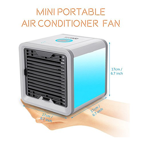 climatiseur mobile ventilateur usb portable refroidisseur d 39 air personnel puissant pour bureau. Black Bedroom Furniture Sets. Home Design Ideas