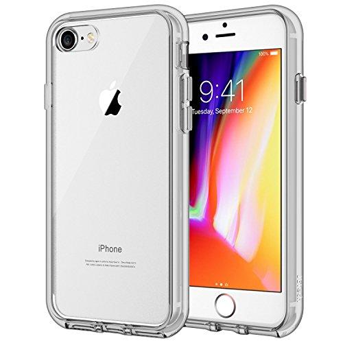 JETech 3421C- Funda para iPhone 8 iPhone 7, Anti-Choques y Anti-Arañazos, Gris