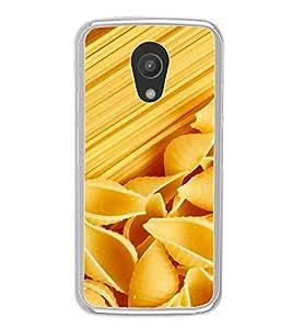 PrintVisa Designer Back Case Cover for Motorola Moto G2 :: Motorola Moto G (2nd Gen) (Cheese Pasta Vermicilli)