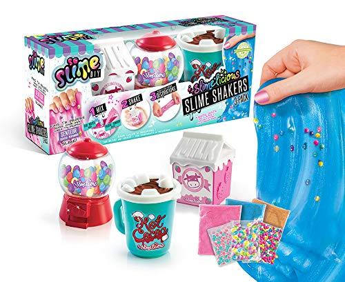 Canal Toys SSC 076 - Gioco Slimelicious Slimelicious, 3 Confezioni da Latte, Gelato e Cioccolato