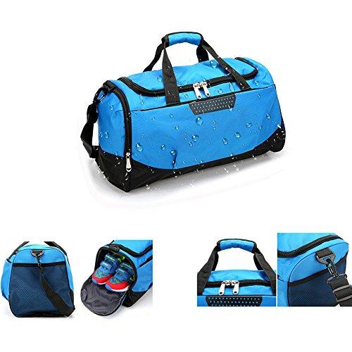 Seesäcke Für Männer Wasserdichte Große Sport Sporttasche mit Schuhe Tasche Outdoor Fitness Training Duffle Reise Yoga Handtasche