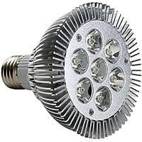 WELSUN E27 par30 7w 680lm 630-3000-3500K bianco caldo macchia lampadina