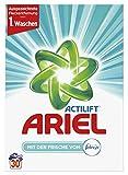 Ariel Vollwaschmittel Pulver mit der Frische von Febreze, 2er Pack(2 x 30 Waschladungen)