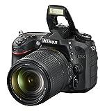 Nikon D7200 (24 Megapixel, 8 cm (3,2 Zoll) LCD-Display, Wi-Fi, NFC, Full-HD-Video) Kit inkl. AF-S DX Nikkor 18-140 mm 1:3,5-5,6G ED VR Objektiv - 8