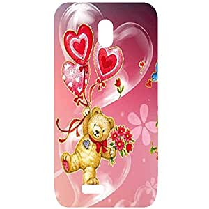 NEU SPEED HIGH QUALITY PRIENTED BACK CACE COVER FOR RELIANCEL LYF FLAME 6 MULTI-25