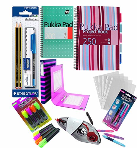 Pukka Pack Student Funtastic Back To School University Education Essentials - Pink