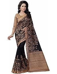 Ishin Bhagalpuri Art Silk Black Printed Party Wear Wedding Wear Casual Wear Festive Wear Bollywood New Collection...