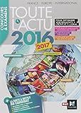 Toute l'actu 2016 Sujets et chiffres de l'actualit..