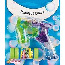 Kim'Play 772 - Juegos al Aire Libre y Deportes, Burbujas pistola automática (surtido: colores aleatorios)