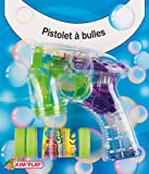 Kim'Play 772 – Juegos al Aire Libre y Deportes, Burbujas pistola automática (surtido: colores aleatorios)