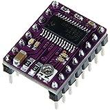WINOMO 5pcs StepStick DRV8825 4-couche Stepper Motor Driver Module pour imprimante 3D Reprap RP A4988