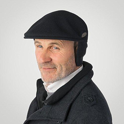 Kangol - casquette souple Homme Noir - Noir
