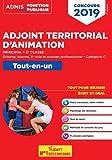 Concours Adjoint territorial d'animation principal de 2e classe - Tout-en-un - Catégorie C - Concours 2019