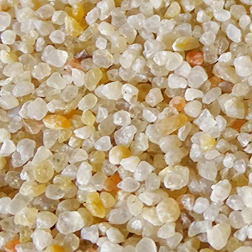 MGS SHOP Dekokies Zierkies Garten Kies Splitt - Farbe wählbar (5 kg, beige 1-3)