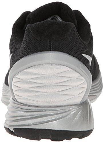 Nike Lunarglide 6 Flash 683652 Damen Laufschuhe Schwarz (Black/reflect silver 001)