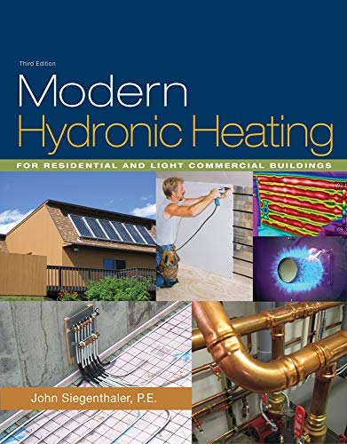 Modern Hydronic Heating : For Residential and Light Commercial Buildings (Go Green with Renewable Energy Resources) (Klimatechnik Engineering)