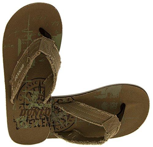 Footwear Studio , Chaussures de piscine et plage pour homme Vert - Khaki