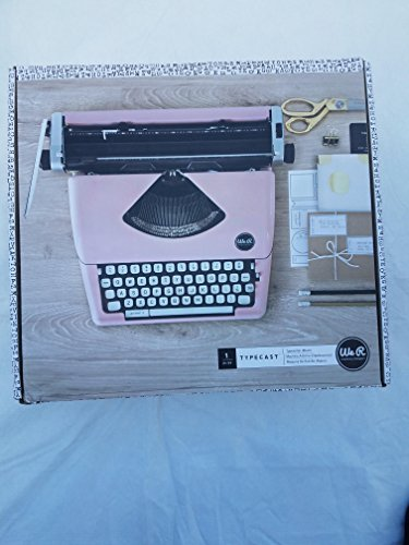 We R Memory Keepers Máquina de Escribir Typecast Typewriter Rosa