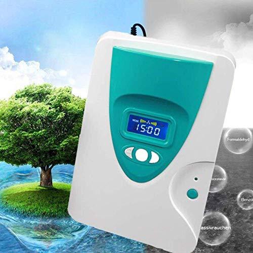Ozone Sterilizer Water Disinfector Vegetable Fruit Fresher Ozonator Ozone  Machine With The Timing Function Ozone Generator - European standard plug,