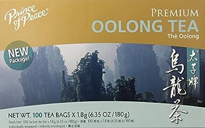 Prince of Peace - 100 Sachets de Thé - Premium Oolong Tea - 2g chacun